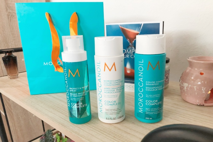 moroccanoil color complete shampoo conditioner