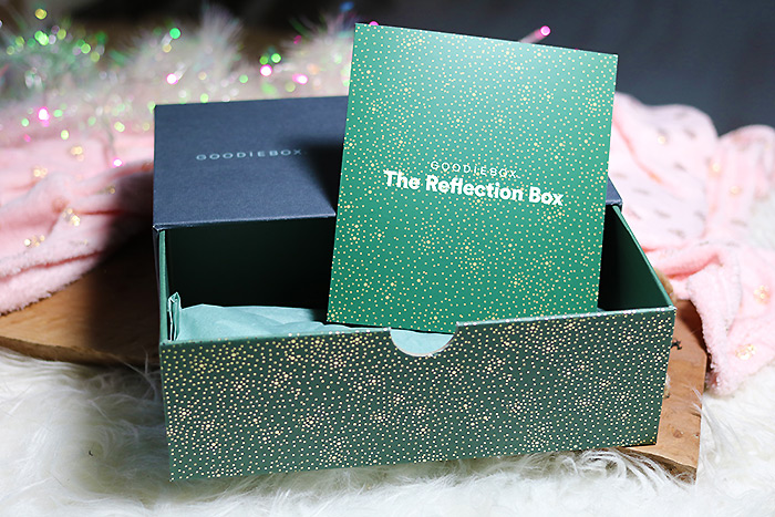 goodiebox december 2018 the reflection box
