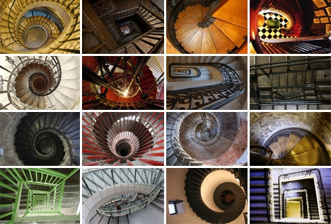 16 Spectacular Spiral Staircases Designs Ideas On Dornob | Types Of Spiral Staircase | Divine | Elegant | Exterior | Free Standing | Aqua