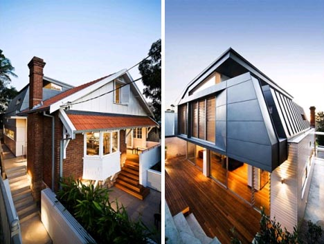 Ultramodern Addition To Traditional Home Designs Amp Ideas