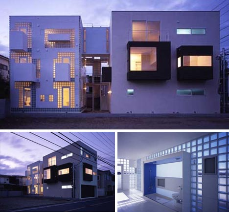 Japanese Home Cubes 10 Neat Modern Box House Designs
