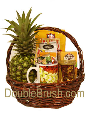 New And Exclusive Fresh Pineapple Gift Baskets From Hawaii