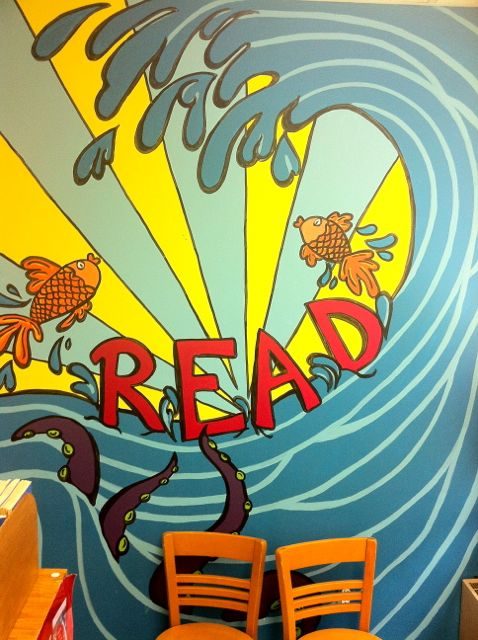 Library Murals A Pet Peeve Home Doug Johnson S Blue