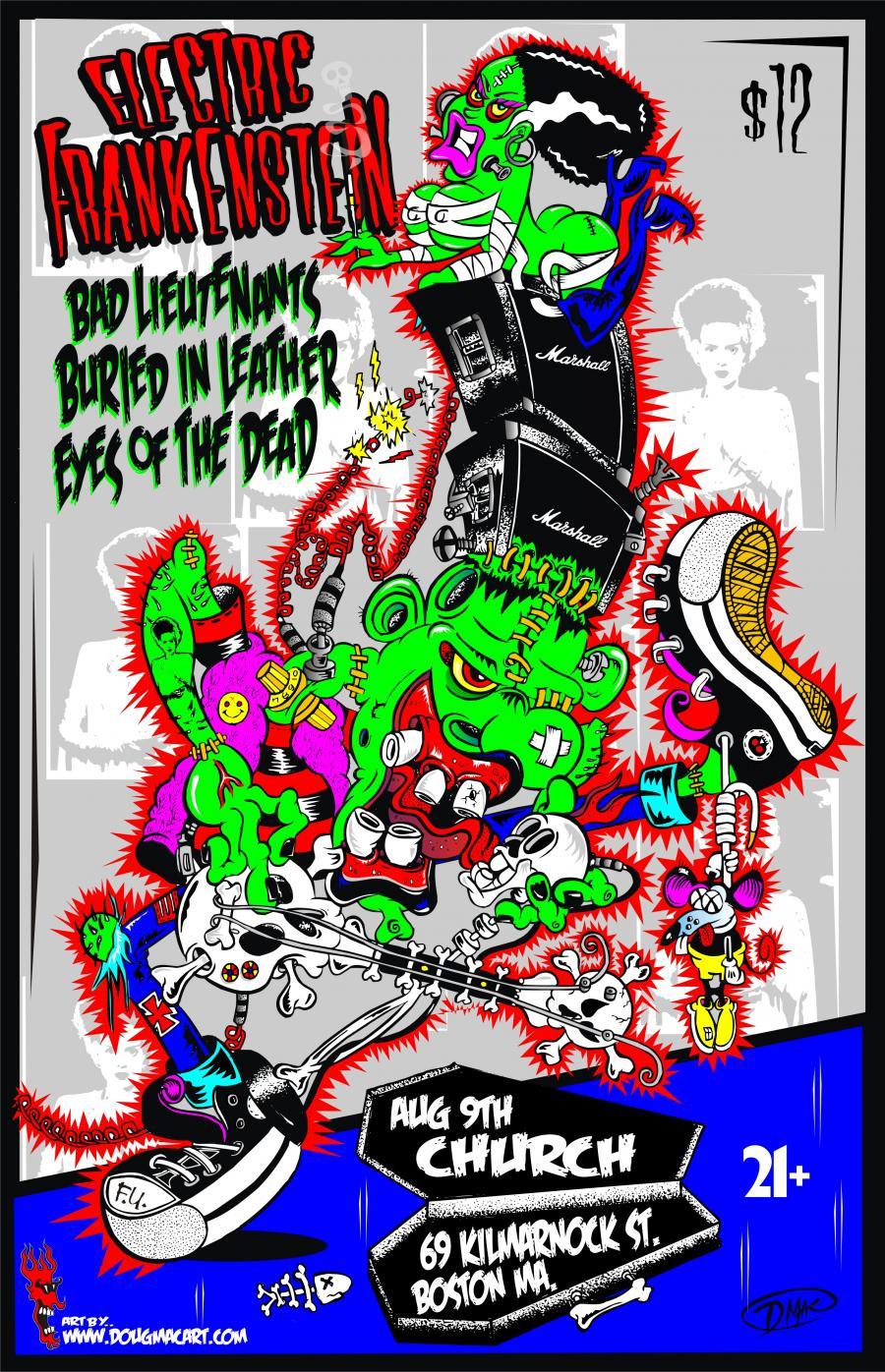 Mags Amp Bands Doug Mac Art Illustrations Lowbrow Art