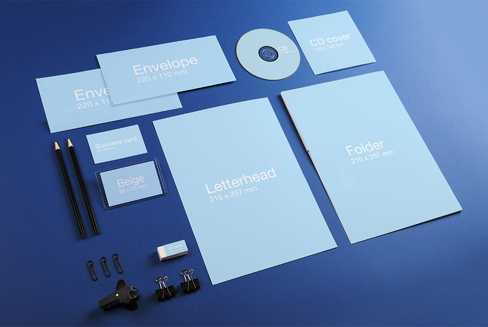 Corporate Identity Stationary Mockup Psd Download Mockup