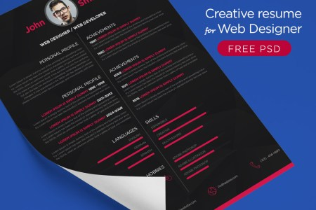 Best Web Designer Resume 4k Pictures 4k Pictures Full Hq Wallpaper