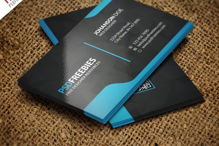 20  Free Business Card Templates PSD Download   Download PSD Graphic Designer Business Card Template Free PSD