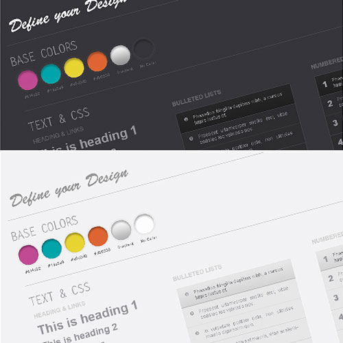 Web Design Wireframe Kit PSD Download   Download PSD Web Design Wireframe Kit PSD