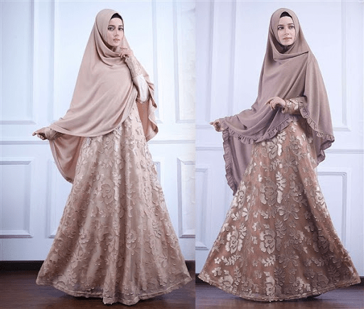 Model Baju Renda Abaya 18