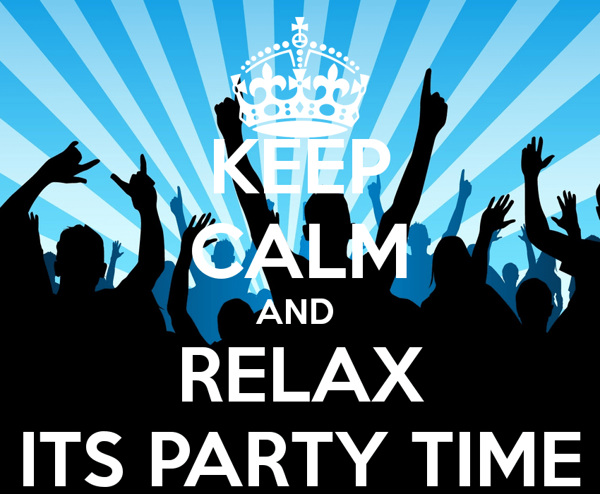 Party All Keep Calm Night And
