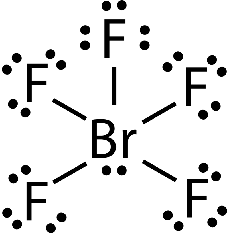Lewis Dot Structure For Fluorine 9