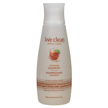 Buy Live Clean Apple Cider Clarifying Shampoo at Well ca   Free     Live Clean Apple Cider Clarifying Shampoo