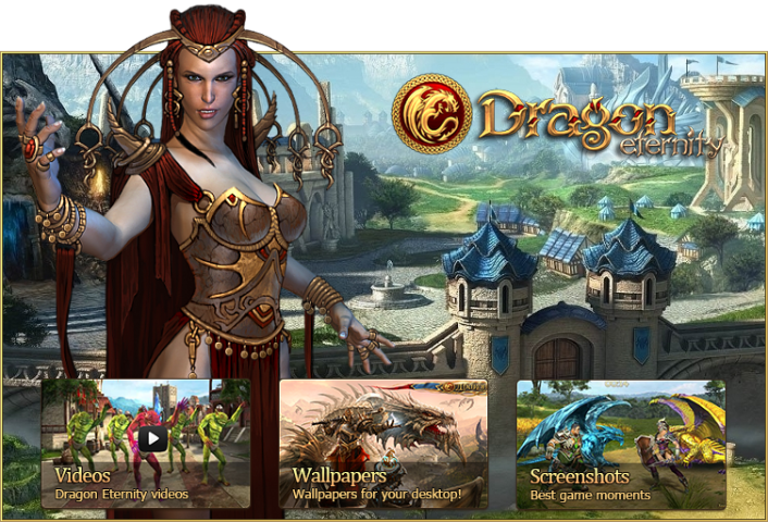Game Dragon Eternity is a cross platform massively multiplayer online  role playing game  All you need to play is a browser or a supported mobile  device and