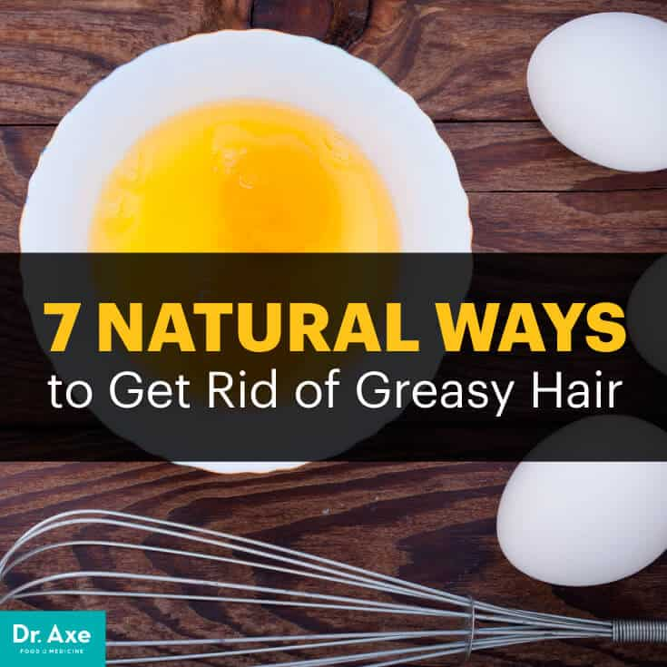 How to Get Rid of Greasy Hair   Dr  Axe Greasy hair remedy   Dr  Axe
