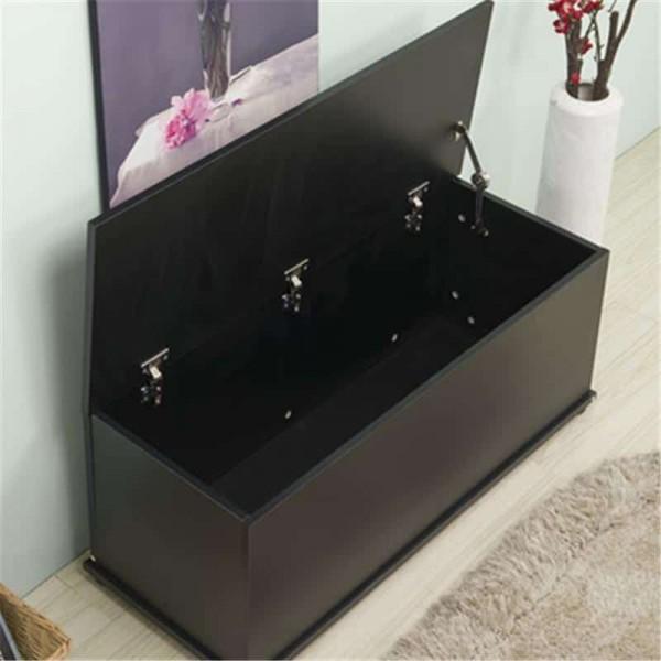 Black Storage Bench Dreams Outdoors