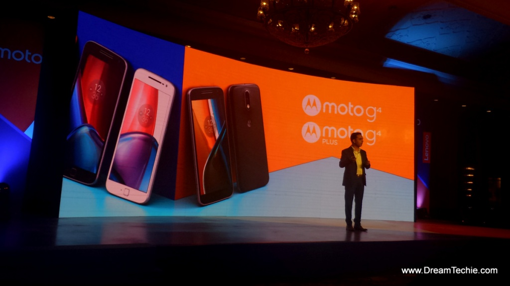 Moto G4 Plus Launch Event