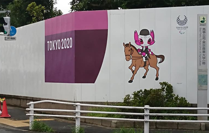 Tokyo 2020 Olympic Equestrian Stadium Nears Completion