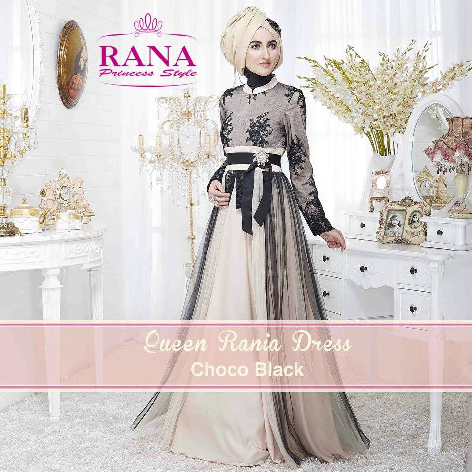 Dress Gamis Pesta Muslim Model Dress Gamis Pesta Muslim Terbaru