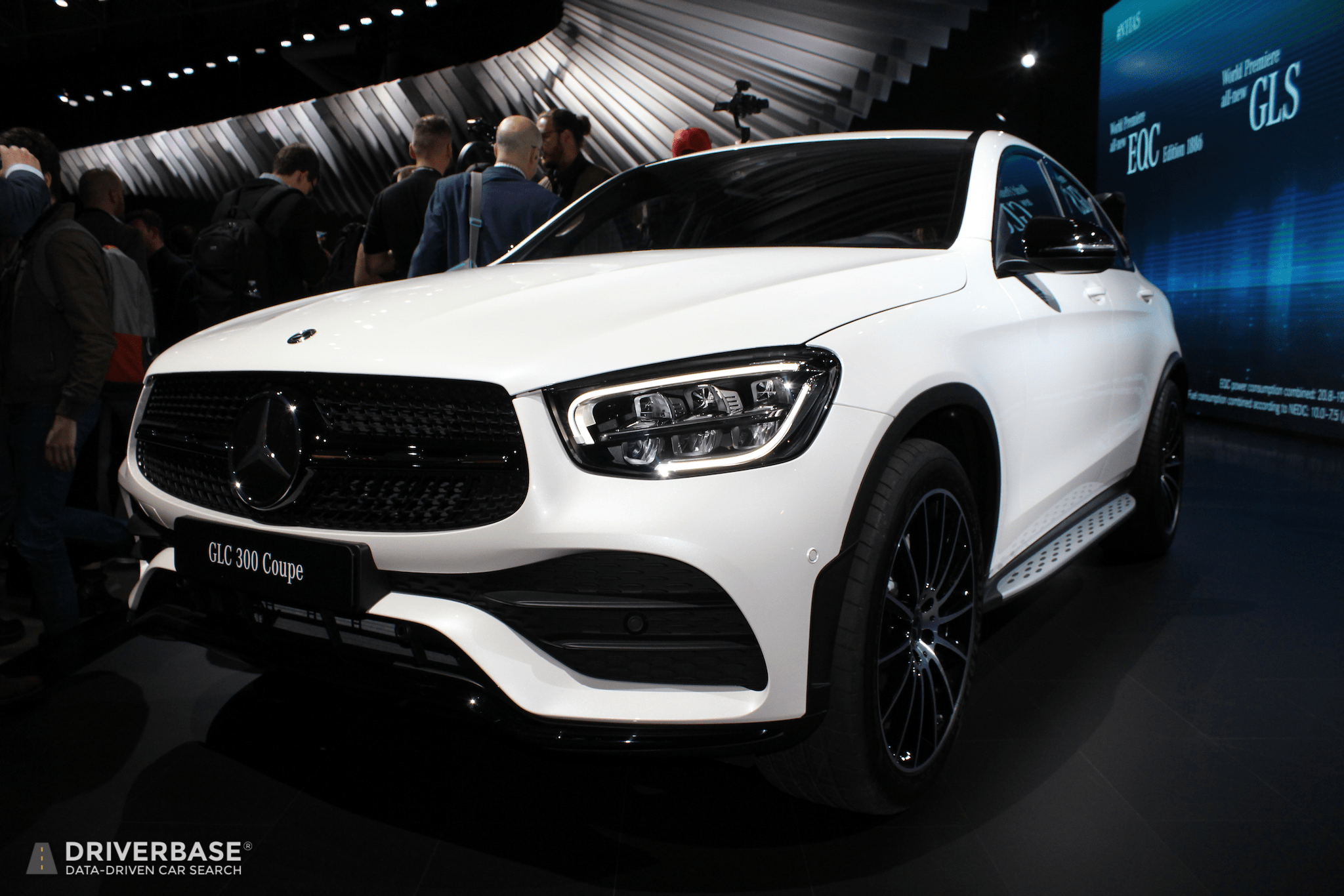 2020 Mercedes Benz Glc 300 Coupe At The 2019 New York Auto Show Driverbase
