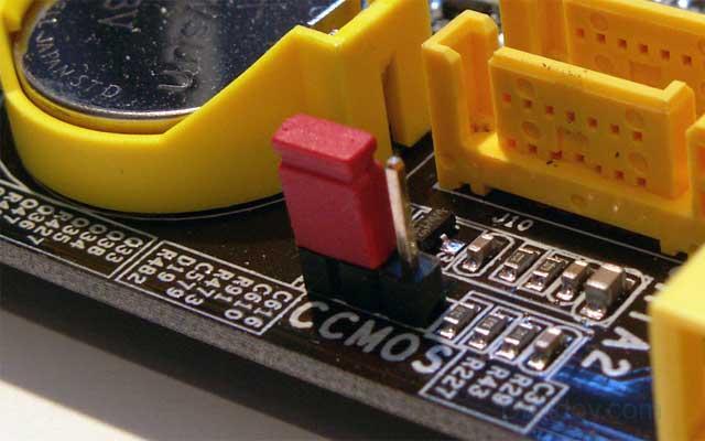 BIOS параметрлерін қалпына келтіріңіз