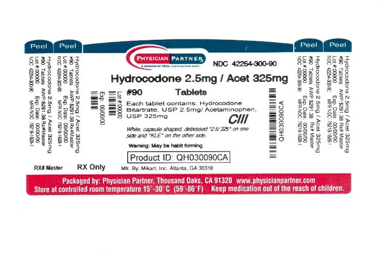 Hydrocodone Information 325mg 5mg