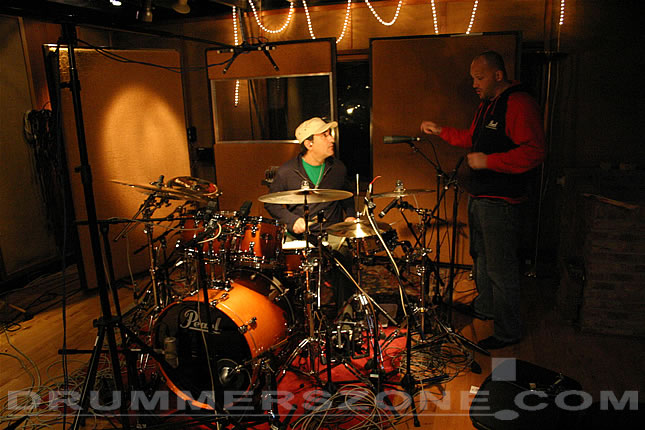 Martin Chambers Drum Set