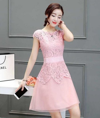 Model Baju Dress Pendek 27