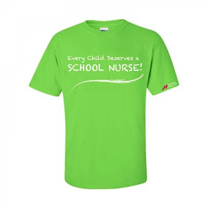 Every Child Deserves A School Nurse T Shirts