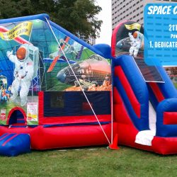 Interactive Games Delray Beach   Party Games Hollywood   Carnival     Space Inflatable Slide and Bouncer Celebration Source