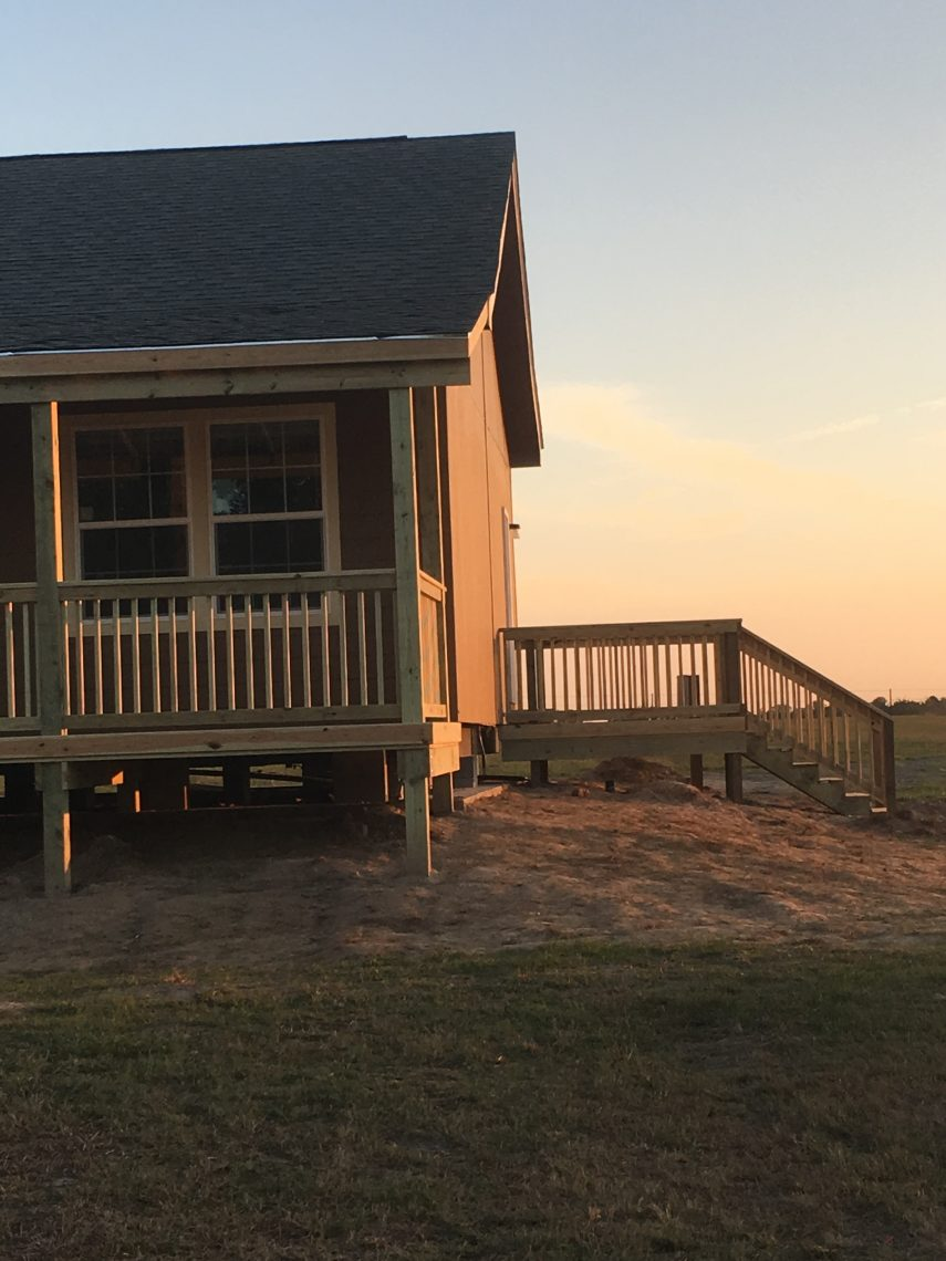 Mobile Home Decking