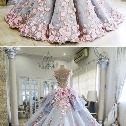 a5c0dd30a7 Pretty Blue Quinceanera Dress Ball Gown By Destinydress On Zibbet