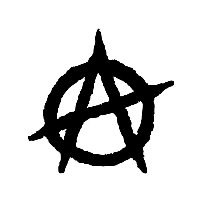 Anarchy Symbol Anarchist Chaos A graphics by vectordesign ...