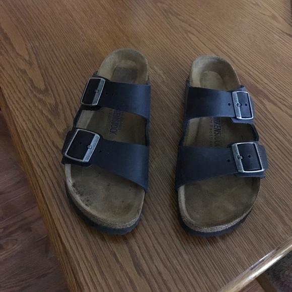 33% off Birkenstock Shoes - Black oiled leather ...