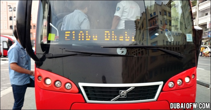 How To Travel From Dubai To Abu Dhabi Via Public Bus