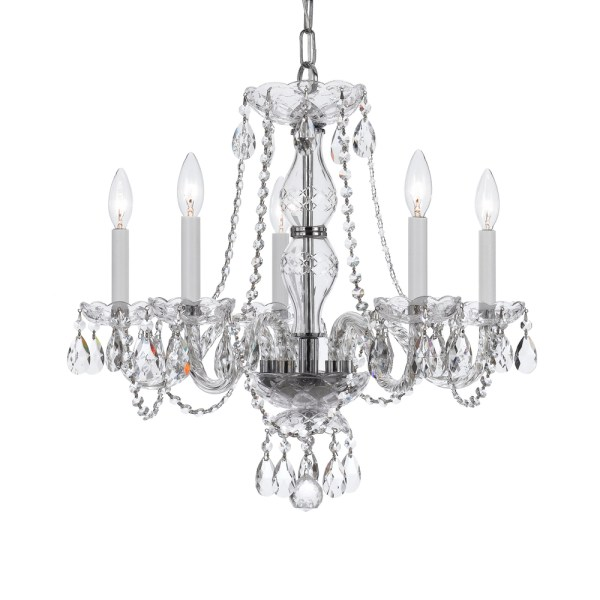 crystal chandelier traditional # 80