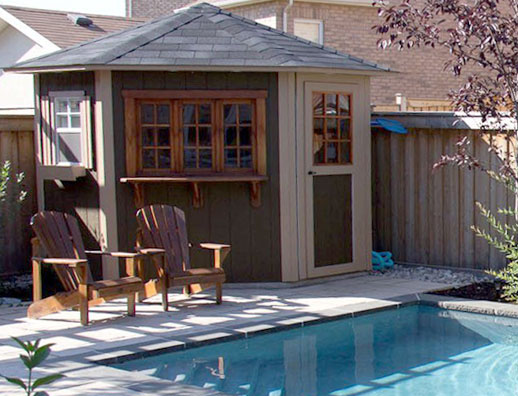 5 Sided Cabana Duroshed