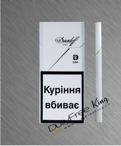 Davidoff Slim one Cigarettes order at DutyFreePrice ...