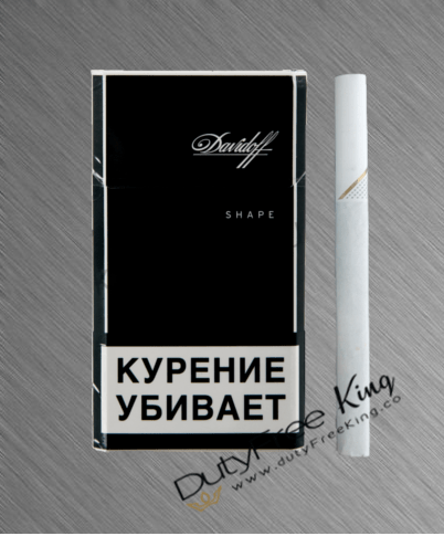 Buy Davidoff Black Shape Cigarettes at Duty Free Price ...