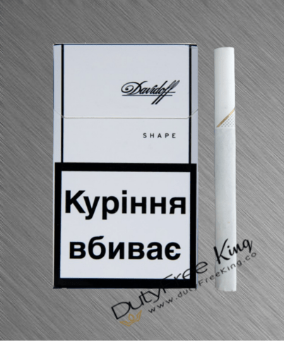 Buy Davidoff White Shape Cigarettes at Duty Free Price ...