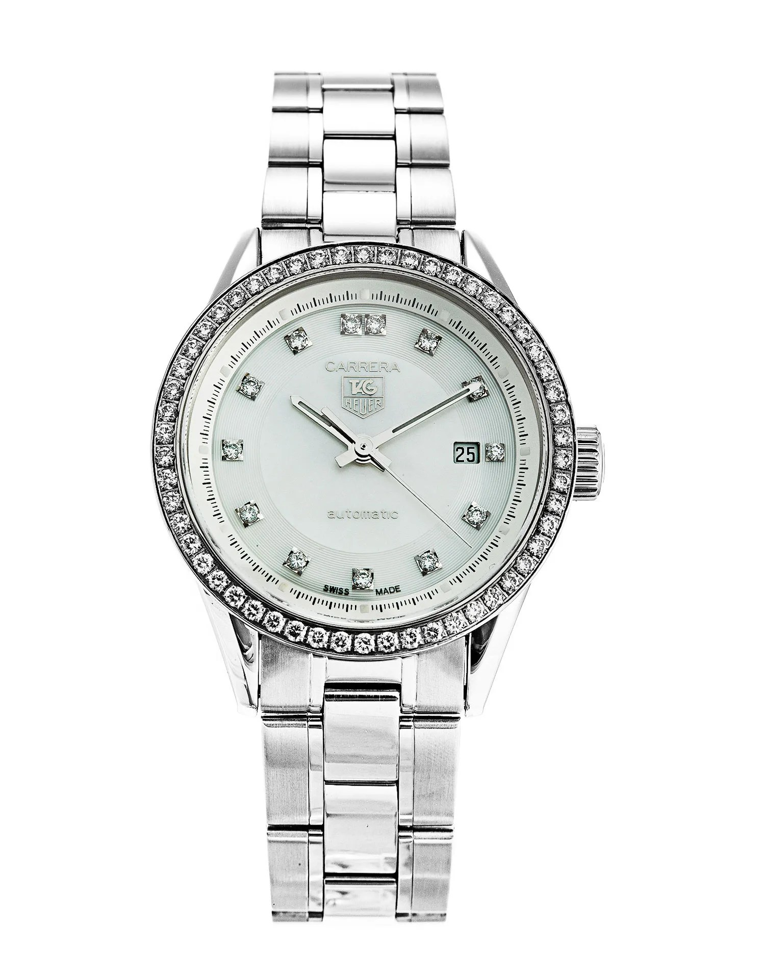 Tag Heuer Carrera Ladies WV2413.BA0793 Watch | Watchfinder ...