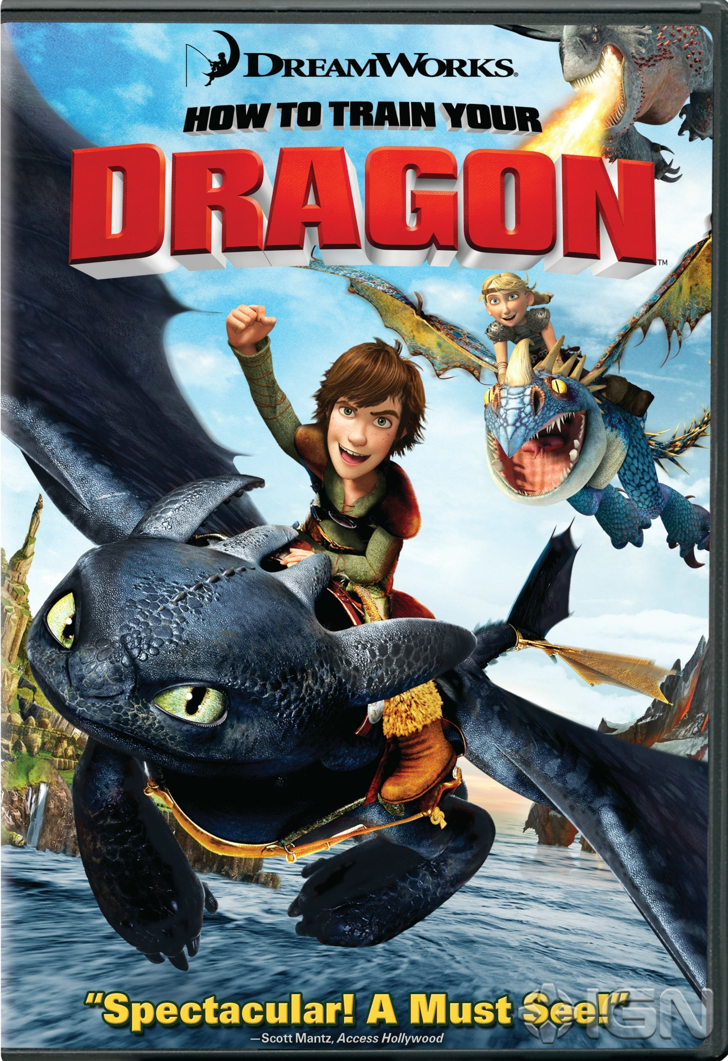 Kami's Library Thoughts: How to Train Your Dragon
