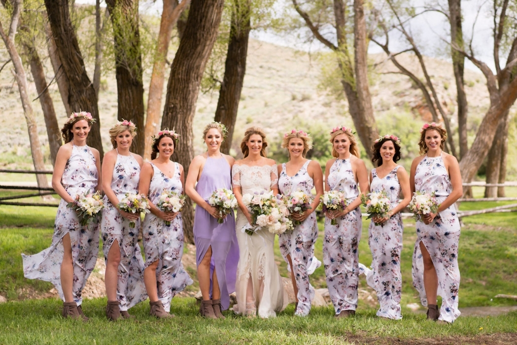 Blaine Bowen and Jordan Jakubov's Magical Ranch Wedding