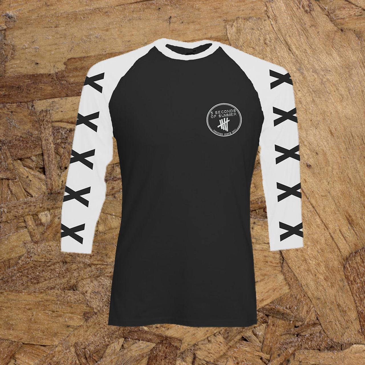 5 Seconds Summer Baseball Shirts