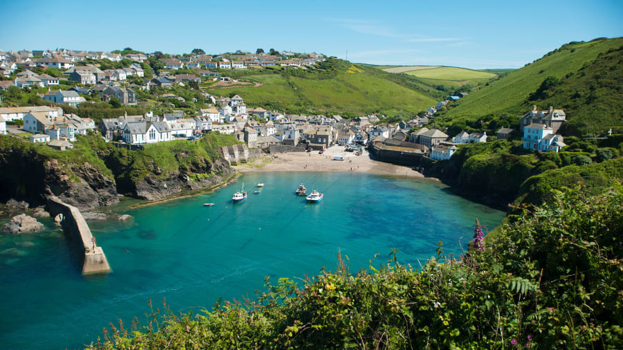 England s most beautiful places  31 photos to enchant you   CNN Travel Beautiful England 7 Cornwall Port Issac