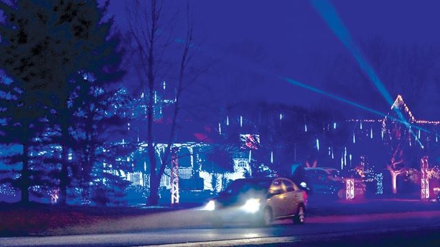 Bowmanville S Old Scugog Road Neighbourhood Glows Brighter