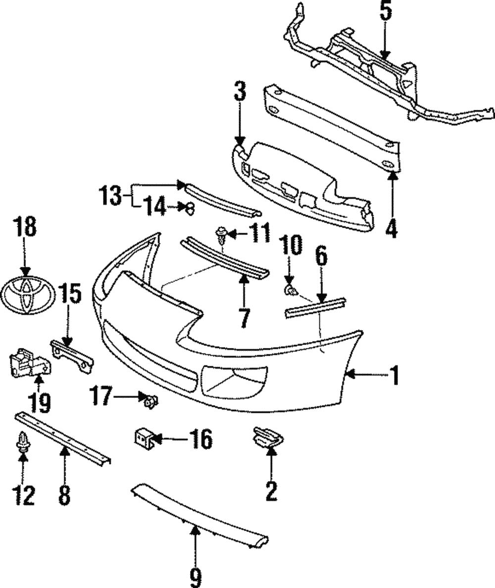 Genuine toyota supra mount bracket 52114 14100
