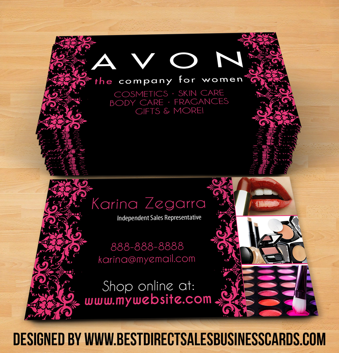 order younique business cards - Younique Business Cards