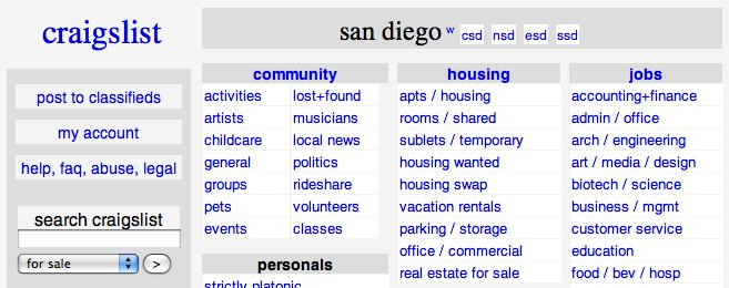 Sd craigslist personals