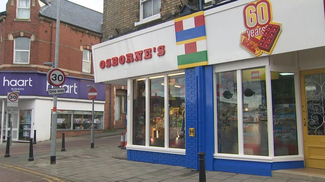 First UK shop to sell Lego gets special makeover to mark 60 years of     First UK shop to sell Lego gets special makeover to mark 60 years of the toy