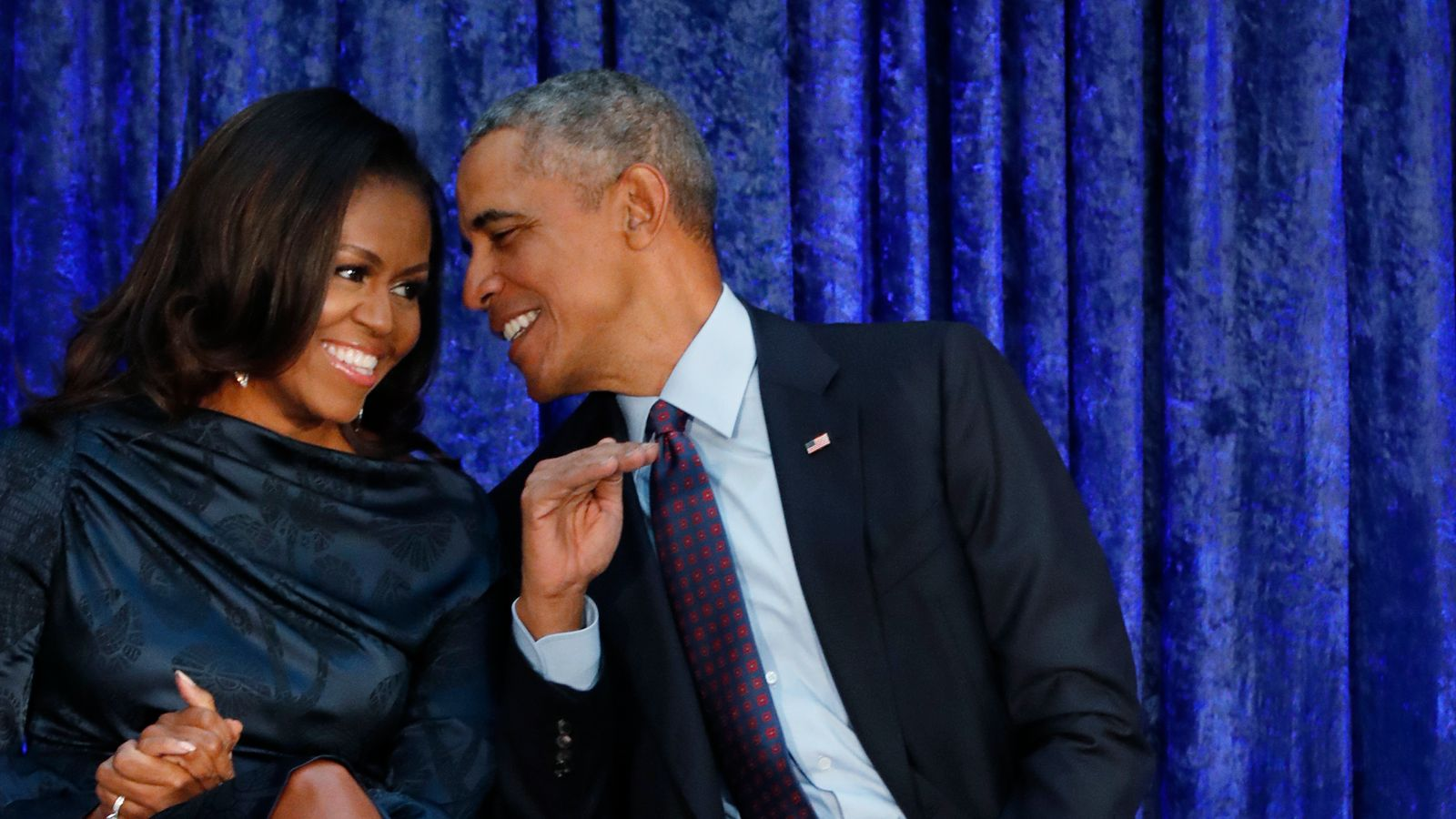 Obama shares throwback photo with Michelle for her ...